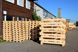 Optimalizace palet a dřevěných obalů